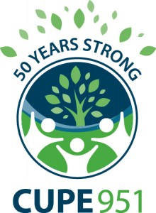 50 Years Strong - CUPE 951