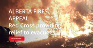 The Canadian Red Cross, Financial institutions rally to support fire victims.