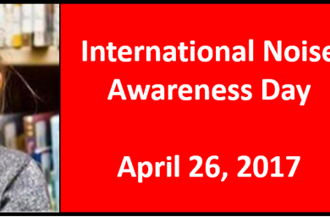 Noise awareness day – April 26th